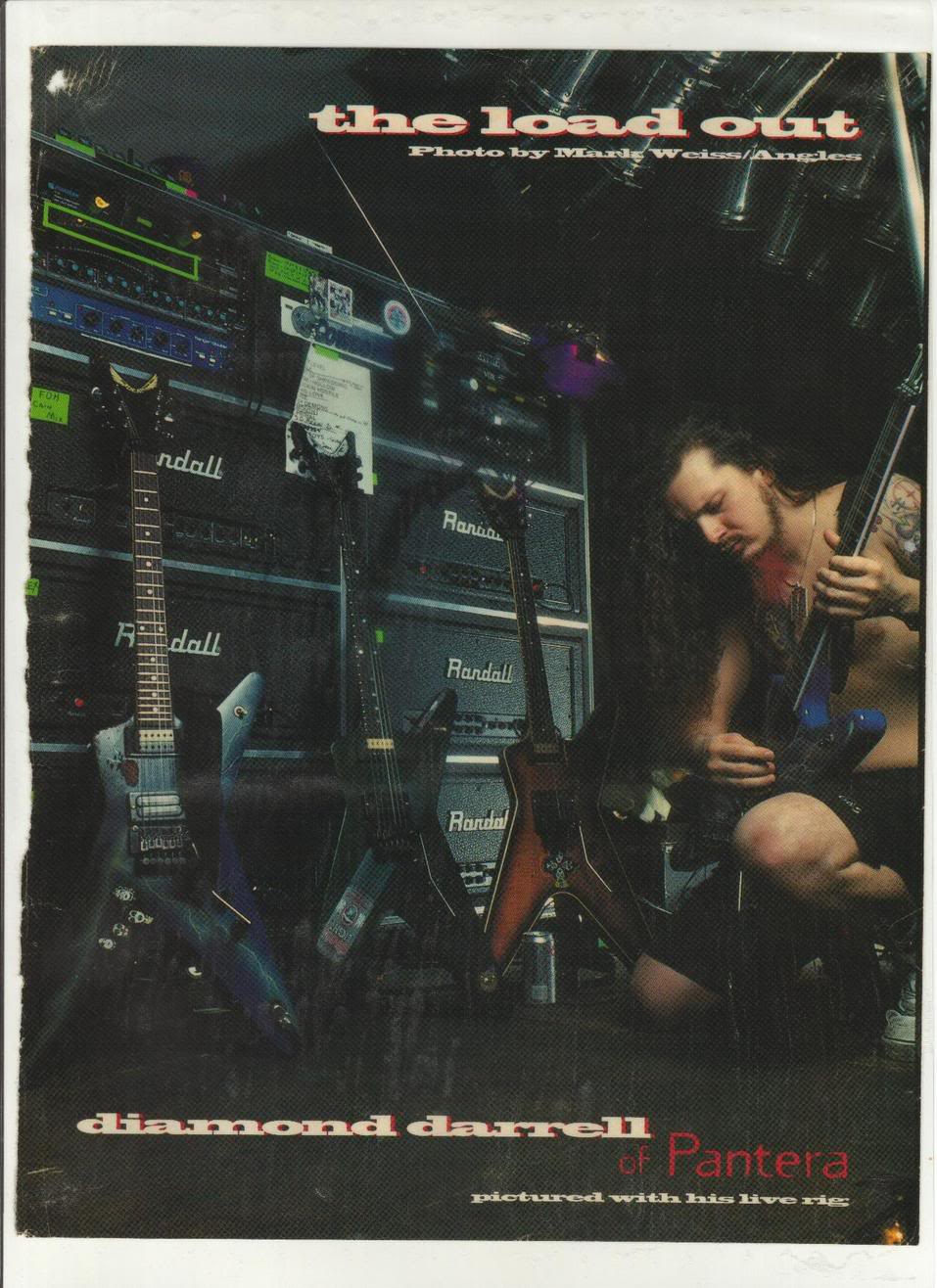 Dimebag and his FURMAN PQ-3