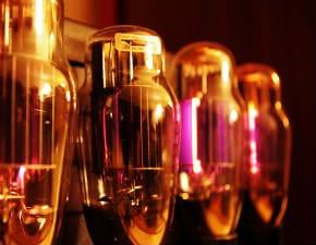 Guitar amplifier valve tubes