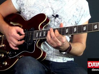 Epiphone Riviera Semi Hollow Body Electric Guitar Review 1