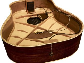 Transducer anthem-acoustic-pickup-split-saddle