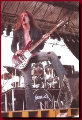 Cliff Burton of Metallica