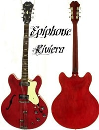 Epiphone Riviera Semi Hollow Body Electric Guitar Review