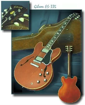 Vintage Gibson ES-335 Semi-Hollowbody