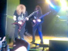 Megadeth Dave Mustaine & Chris Broderick