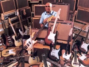 Clarence Leo Fender guitars