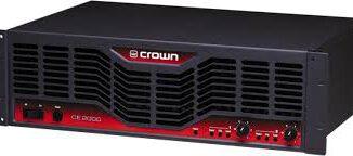Crown CE1000 Amplifier Review