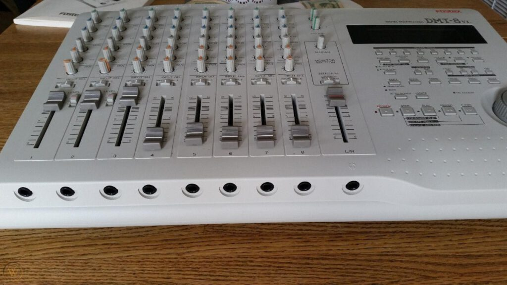 Fostex DMT-8VL multitrack recorder