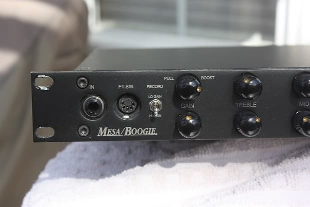 Mesa Boogie Formula Pre Recording Review