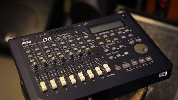 korg d8 multi track recorder