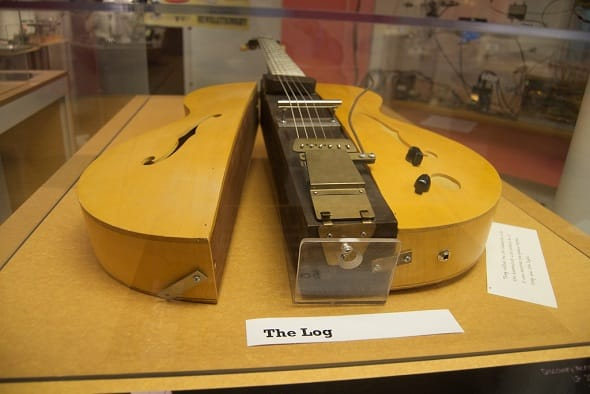 Les paul The Log Guitar history 1939