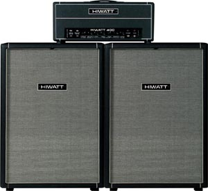 Hiwatt 400 custom bass amp