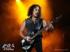 Kirk Hammett talks Gear and Sound for Death Magnetic