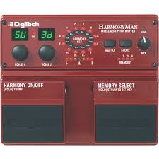 DigiTech HarmonyMan Intelligent Pitch Shifter 1