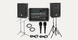 Peavey Live Sound PA Equipment