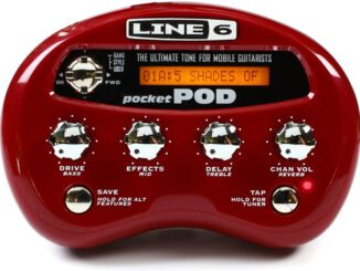 Line 6 Pocket POD guitar amplifier review