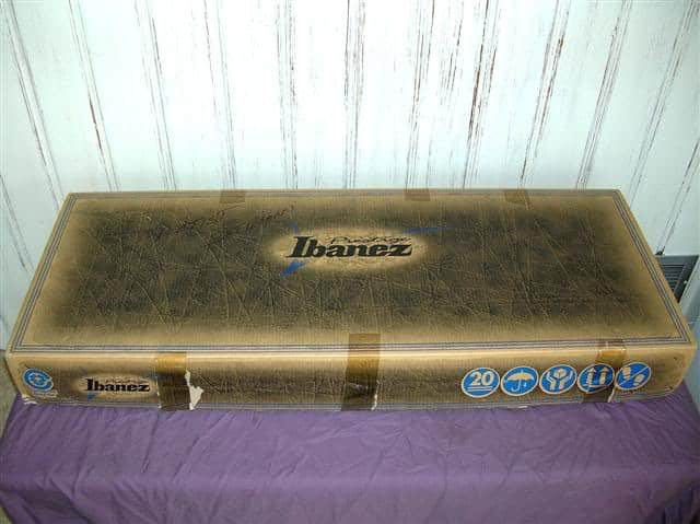 ibanez js2prm box and case