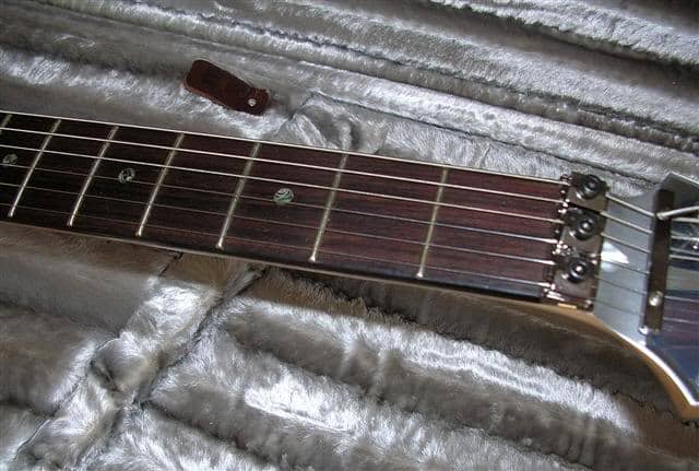ibanez js2prm electric guitar fretboard