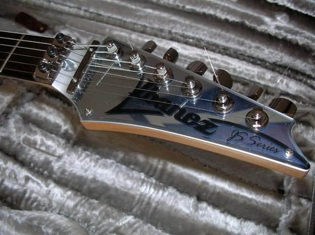 ibanez js2prm electric guitar headstock