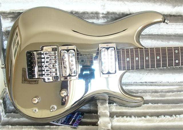 ibanez js2prm guitar body chromeboy