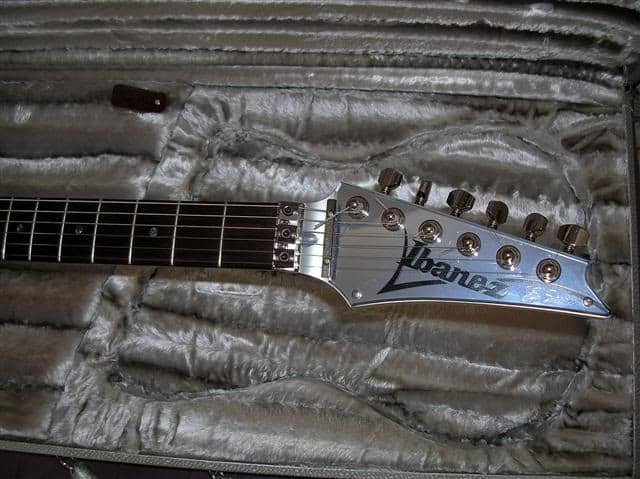 ibanez js2prm guitar neck and headstock