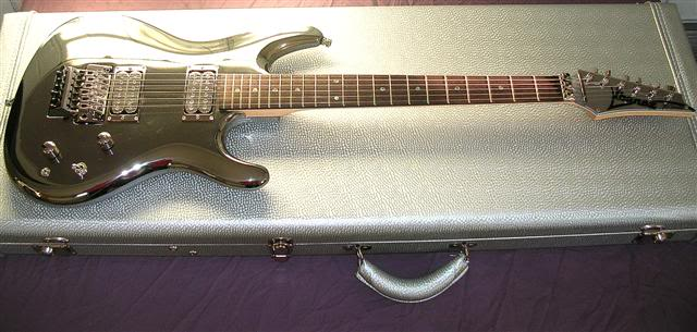 ibanez js2prm in guitar case full shot
