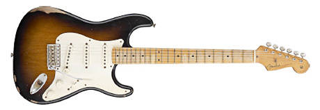 Road Worn 50s Stratocaster sunburst