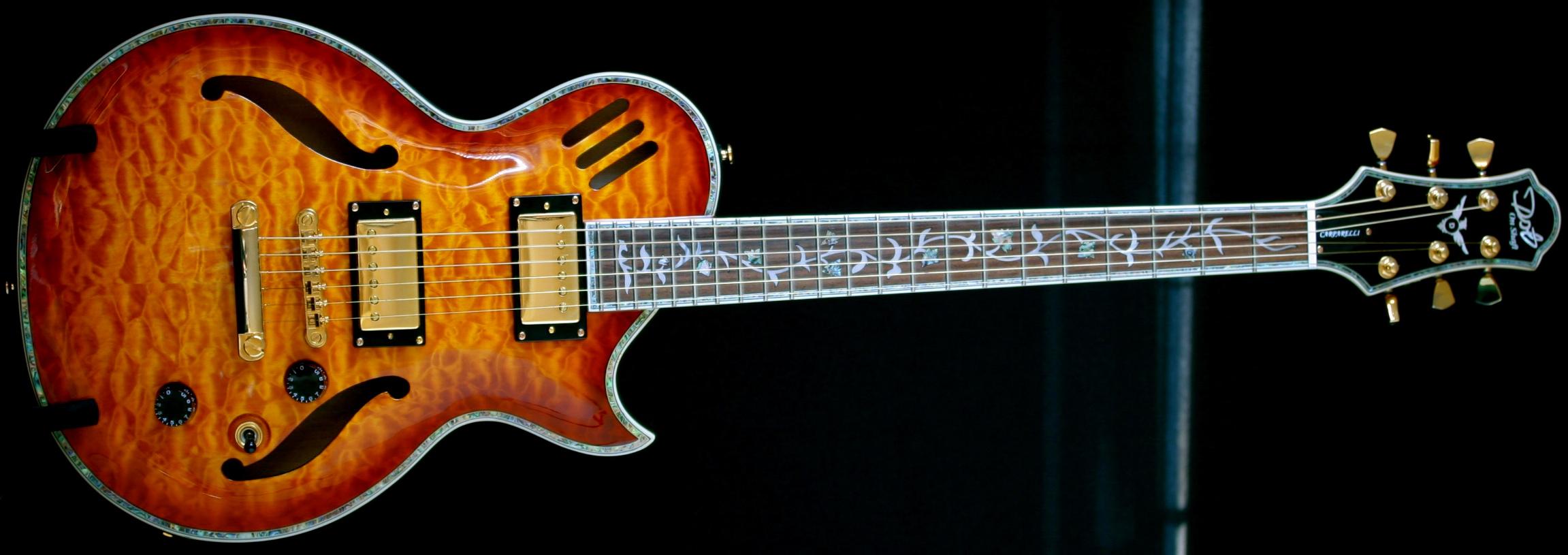 Rise and Fall of DOS – Carparelli S2 Les Paul Style Guitar No Mo!