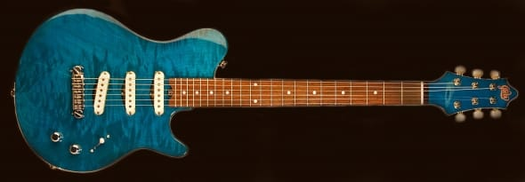 Gadow Guitars American Deluxe with Single Coil Pickups