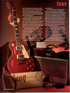 Gibson Introduces Slash Appetite for Destruction Les Paul Guitar