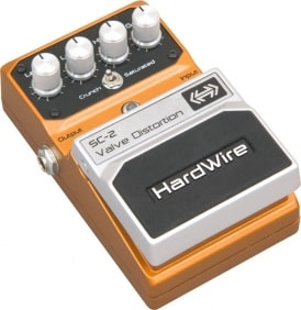 Hardwire SC-2 Valve Distortion Guitar Pedal