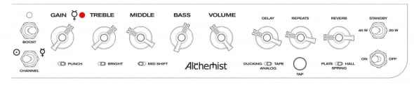 Bogner Alchmist amp settings for Manic