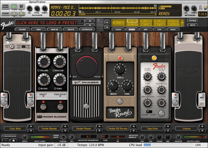 AmpliTube iRig mobile guitar amp and effects rig