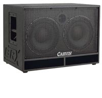 Carvin BX1200 Bass Guitar Amplifier and Cab
