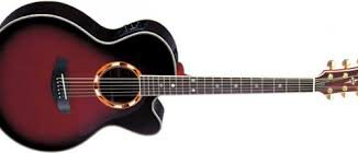 Yamaha CPX15WII West Cutaway Acoustic-Electric Guitar