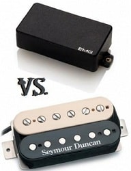 EMG vs. Seymour Duncan Electric Guitar Pickups