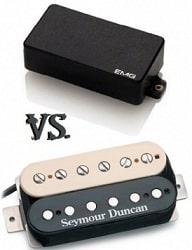 EMG vs. Seymour Duncan Electric Guitar Pickups