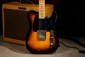 Fender Custom Shop 1959 Stealth Esquire Sunburst