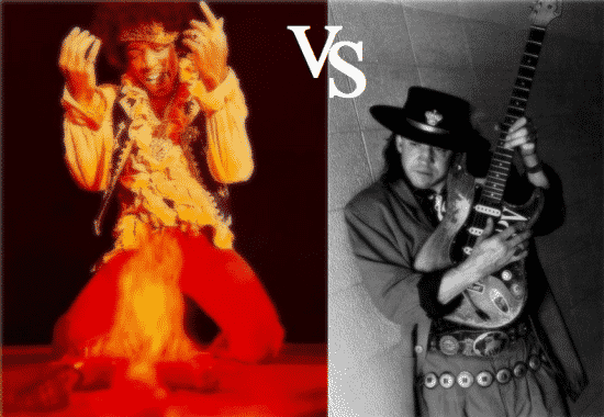 Jimi Hendrix vs Stevie Ray Vaughan - Who Is Better?