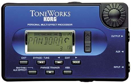 Korg Pandora PX3 Multi Effect Guitar Processor