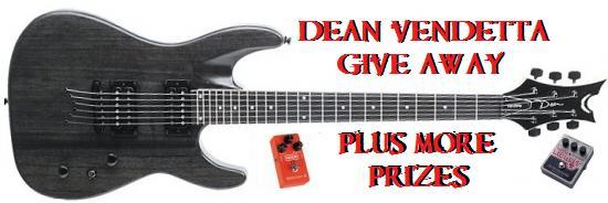 Dean Vendetta Guitar Giveaway