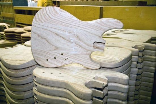 Gibson Hendrix Strat Factory 1