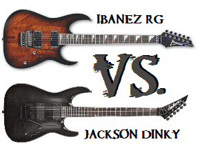 Jackson Dinky vs. Ibanez RG Shootout Review
