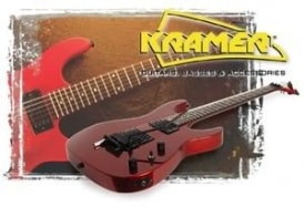 Kramer Baretta FR-404S and Marshall G30R-CD