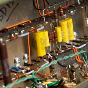 top hat amplifiers internals