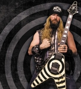 Zakk Wylde Gibson Custom Shop Bullseye Flying V