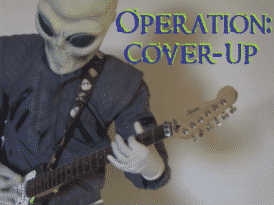 Alien Guitar Player