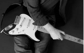 Fender Stratocaster Playing Blues Music