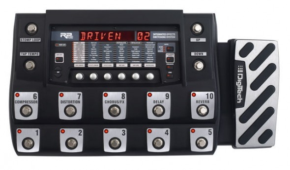 Digitech RP1000 Guitar Effects Processor Review Gear Vault