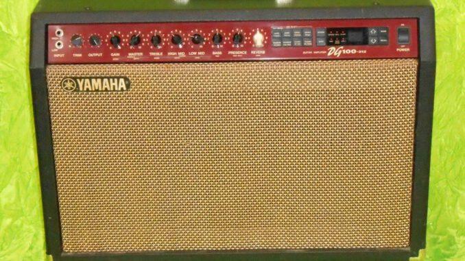 yamaha dg100 guitar amplifier