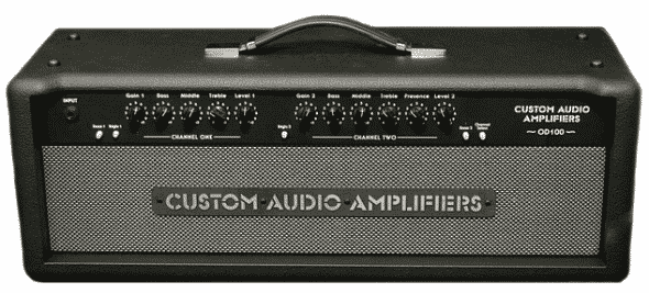Custom Audio Electronics OD-100+ guitar amplifier review